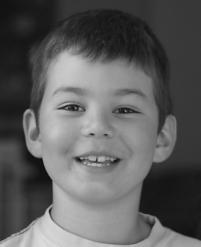 Matthew Pumpkin Grayscale